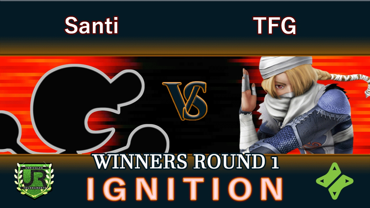 Download Ignition #84 WINNERS ROUND 1 - Santi (Game n Watch) vs TFG (Sheik)