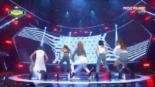 Baixar Live HD | 150225 4MINUTE - Crazy @ MBC Show Champion