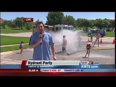 Weather improves for Omaha neighborhood hydrant parties Wednesday