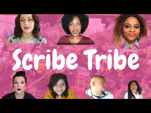 Scribe Tribe Connecting is Everything || Jessica Oakley and friends.