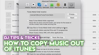 iTunes Tips & Tricks For DJs: How To Copy Music Out Of iTunes