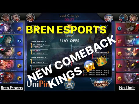 Free Download Bren Is Back Na Ba? Bren Esports Vs No Limit | Just Ml League | Round Robin | Mobile Legends Mp3 dan Mp4
