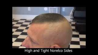 Haircut Men's High and Tight