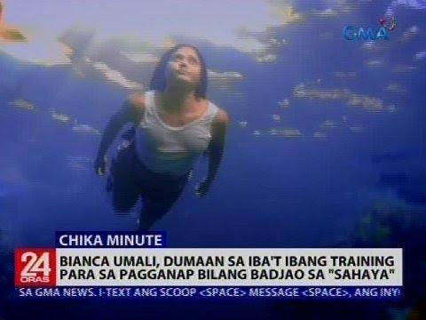 """Bianca Umali, Dumaan Sa Iba't Ibang Training Para Sa Pagganap Bilang Badjao Sa """"Sahaya"""""""