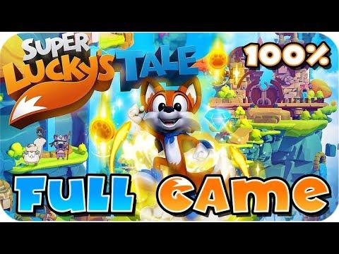 Super Lucky's Tale FULL GAME 100% Walkthrough Longplay (PC, XB1)