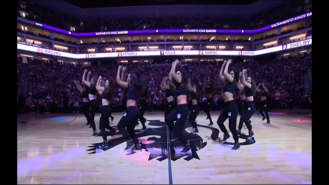 NBA 2018-19 season 12.27 Kings Dancers