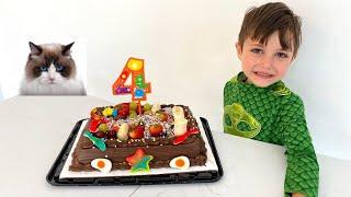 Happy Birthday To My Cat - Preparing A Cake