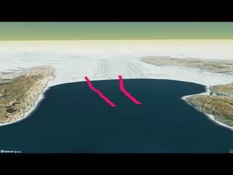 Greenland Jakobshavn Glacier 1993