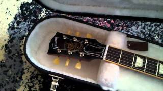 Gibson Les Paul Slash Appetite for Destruction unpacking