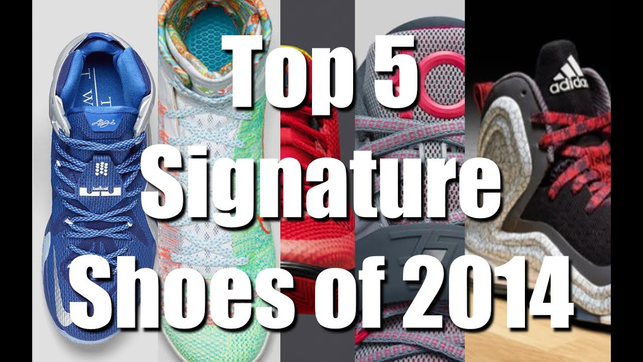 Top Selling Signature Basketball Shoes of 2014 - YouTube