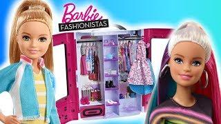 Barbie & Stacie  Modne prezenty  Garderoba Barbie  Toys Land