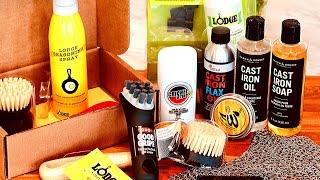 Cast Iron & Carbon Steel: MEGA Cleaning & Seasoning