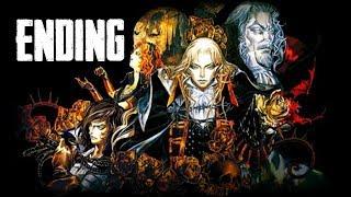 Castlevania SOTN ENDING & Final Boss (BEST ENDING)