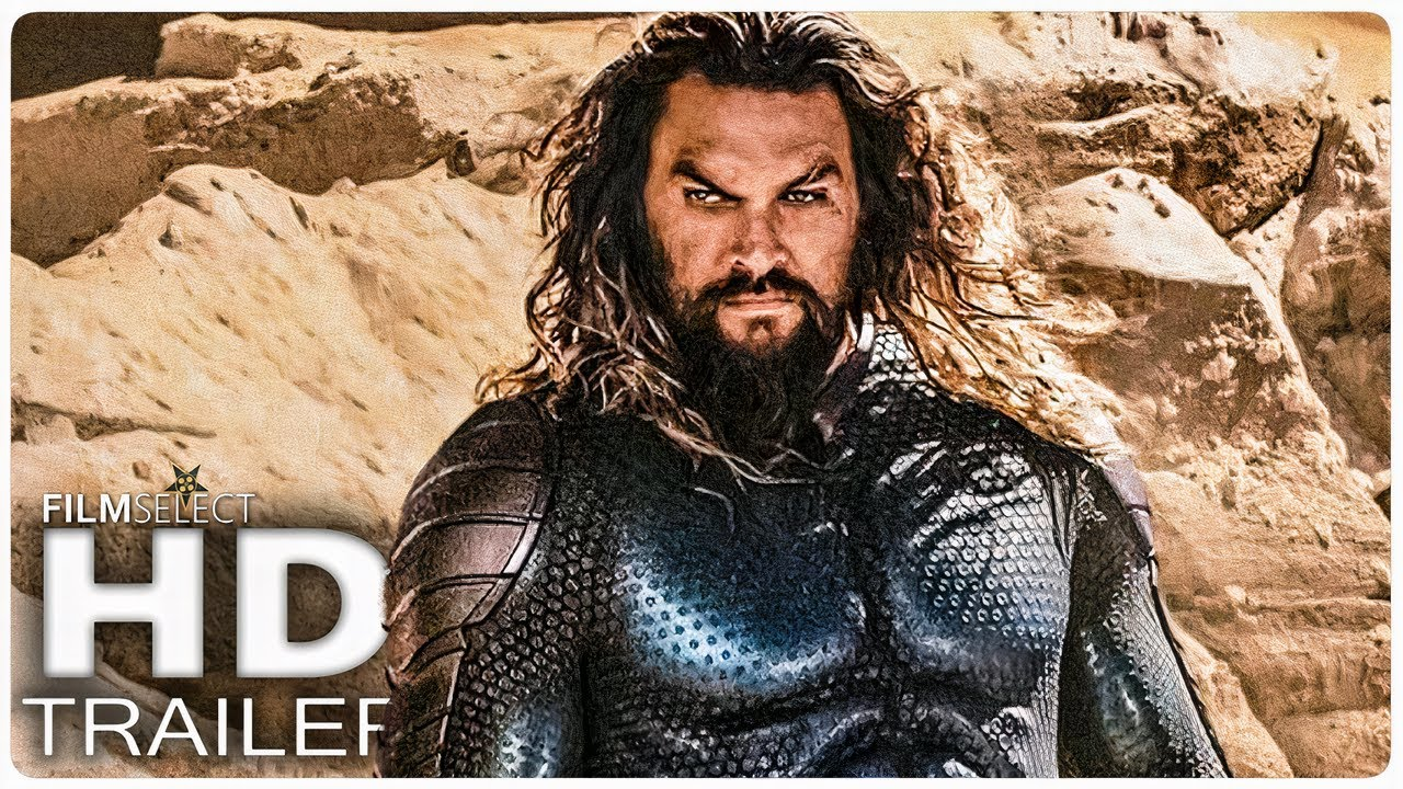 AQUAMAN 2 AND THE LOST KINGDOM First Look Teaser (2022)