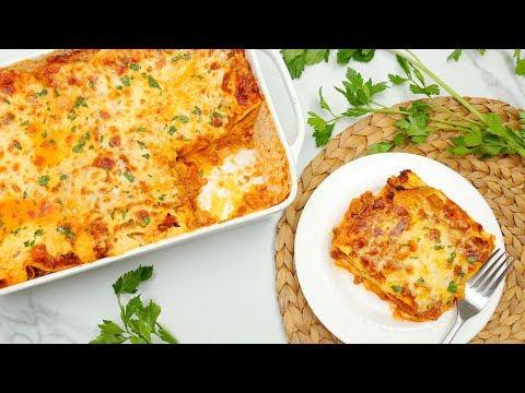Homemade Lasagna Recipe   My Pregnancy Craving