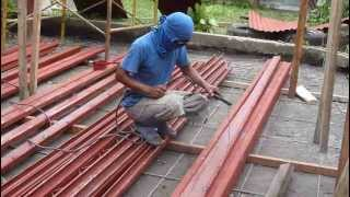 Joining and Welding C Purlins, 9.19.12