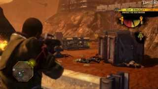 Red Faction Guerrilla HD gameplay