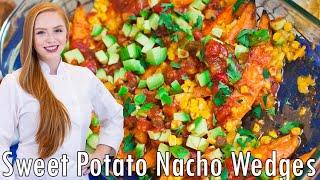 Sweet Potato Nacho Wedges