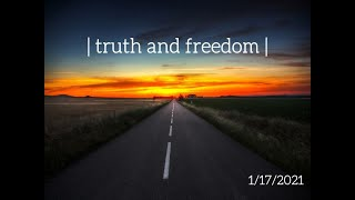 Canonsburg UP Church | January 17, 2021 | Truth and Freedom