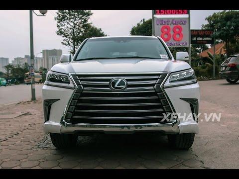 [XEHAY.VN] Chi tiết Lexus LX570 2016 ở Hà Nội