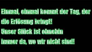 Böhse Onkelz - Einmal (mit Text)