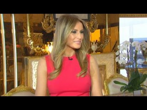 Melania Trump: I'm not a 'yes' person ... I have thick skin