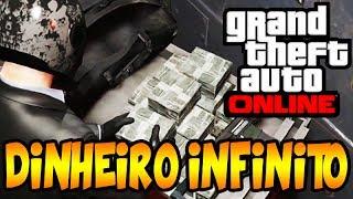 GTA V ONLINE: DINHEIRO INFINITO !!!