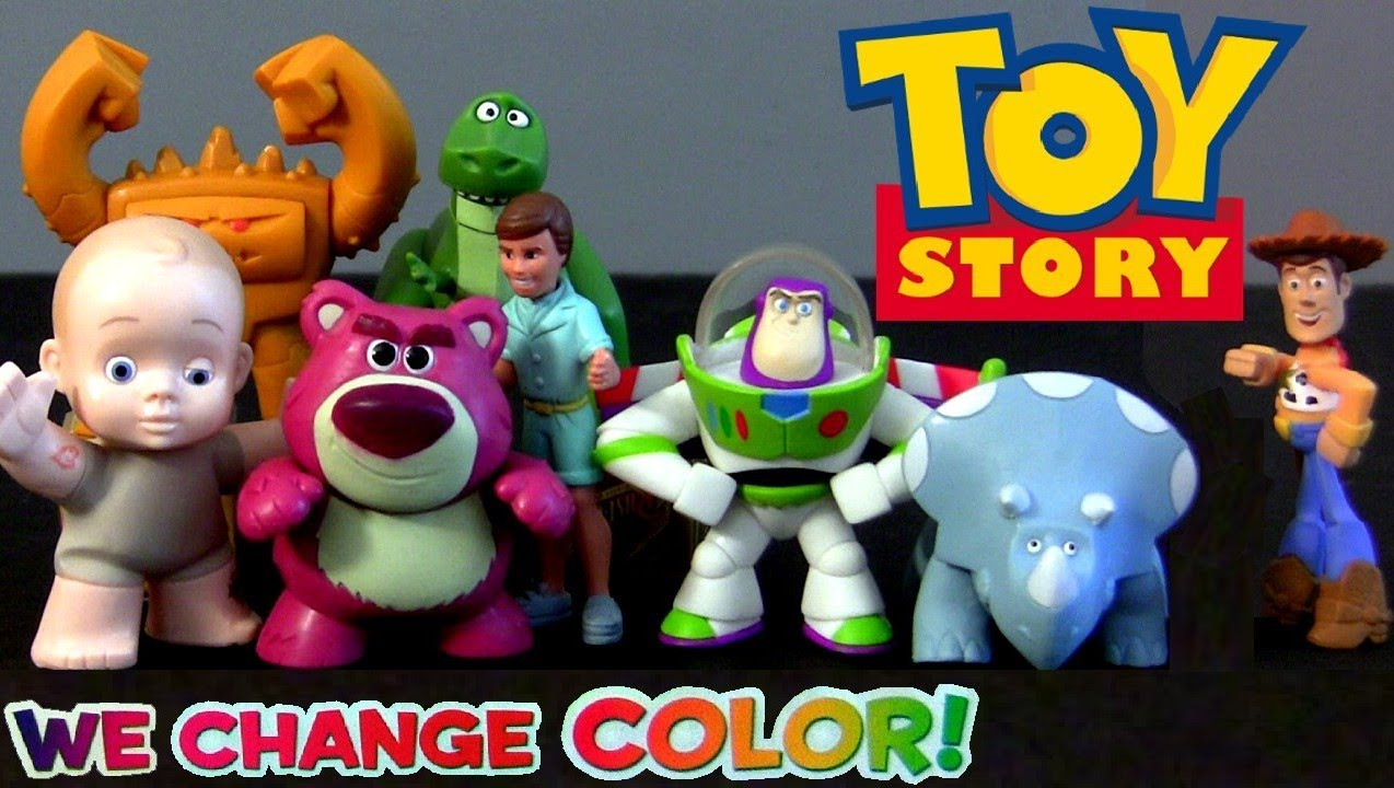 Color Changers Toy Story 3 Splash Buddies Youtube