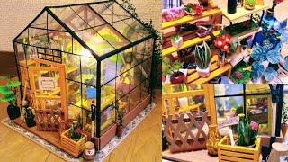 """Miniature Dollhouse """"CATHY'S FLOWER HOUSE"""""""