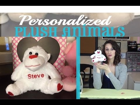 Personalized Plush Animals | #4