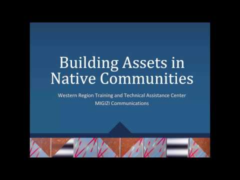 Building Assets in Native Communities