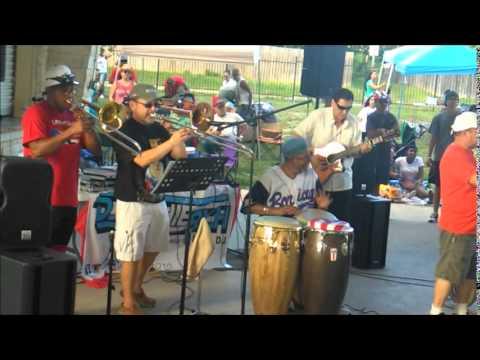 Trucutu  picnic boricua San Antonio Pickrell park 2015