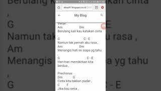 Cover lagu Malaysia with cord bagi pemula