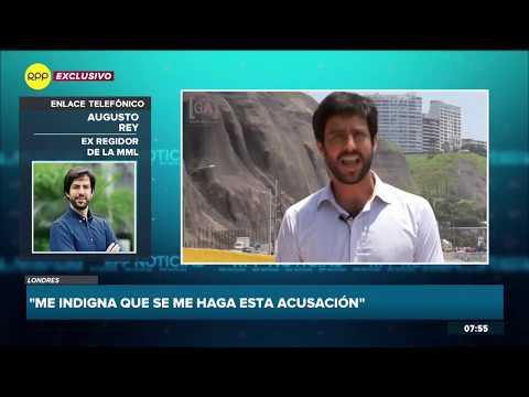 """Augusto Rey: """"No tengo nada que ocultar"""""""