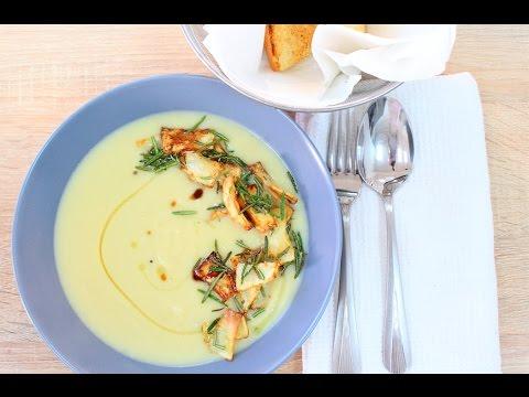 Как приготовить суп пюре из сельдерея