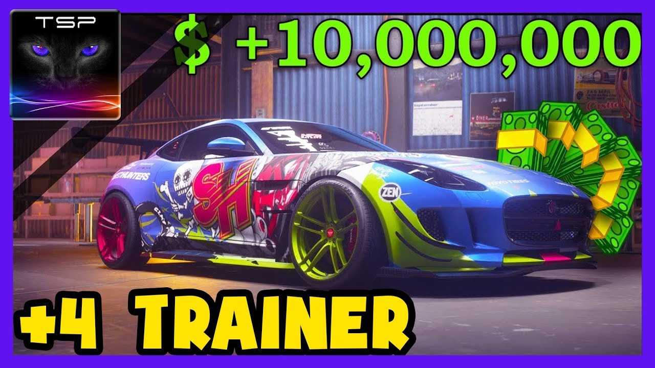 Need for Speed Payback ► Resources TRAINER - Money / Shipments / Reputation  / Trade-Ins