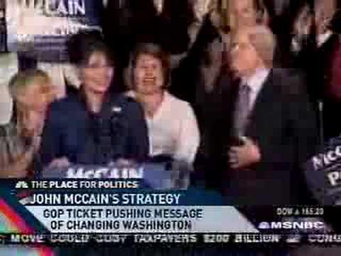 McCain Spokesperson belittles climate crisis.