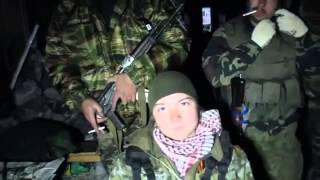 Донецк  26 10 2014 Аэропорт  Здесь убит мой парень, ополченец   'Ялта' и мой отец