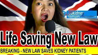 Breaking: Everyone Is Now a Kidney Donor New Law Saves Countless Lives