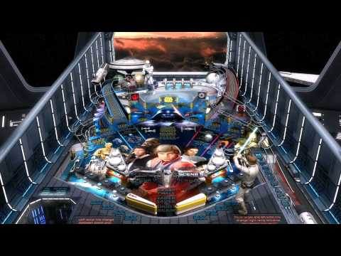 Star Wars Pinball - Episode V - The Empire Strikes Back Table Trailer