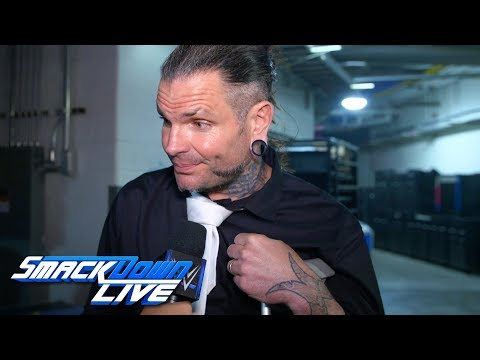 Jeff Hardy on his injured knee: SmackDown Exclusive, April 30, 2019