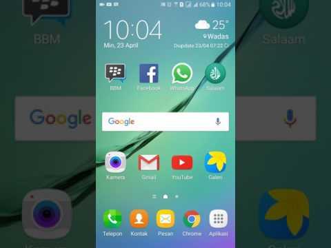 Cara Membersihkan File Sampah Samsung J5 Tanpa Menggunakan Aplikasi