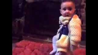 deadpan irish dancing baby and hysterical laughter