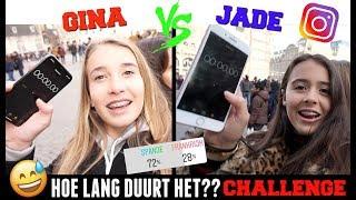 HOE LANG DUURT HET? CHALLENGE | GEKKE OPDRACHTEN UITVOEREN OP DE DAM IN AMSTERDAM!