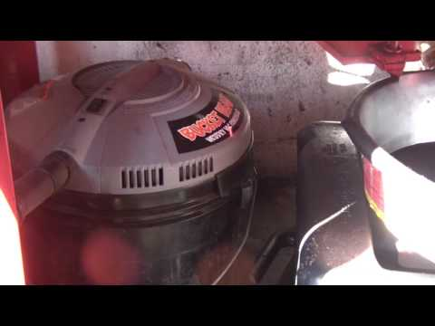 Home Depot Bucket Head Sand Blaster Dust Collector Custom Reclamation