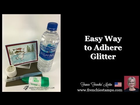 Simple to adhere Glitter