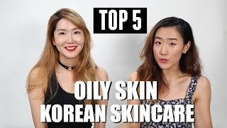 TOP 5 Korean Skincare for OILY SKIN (Feat. Eunice) ♥HaleyProject