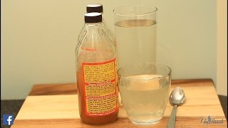 CAN APPLE CIDER VINEGAR & WATER REALLY HELP YOU TO LOSE WEIGHT ?