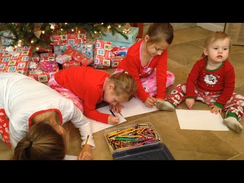 CHRISTMAS EVE: LETTERS FOR SANTA!