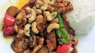 Chinese Cashew Chicken- Asian Cuisine